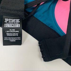PINK Victoria's Secret Intimates & Sleepwear - PINK Victorias Secret Bra Medium Ultimate Pushup